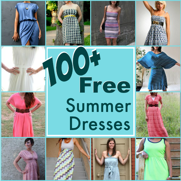 100+ Easy Summer Dresses | Round Up - The Sewing Loft