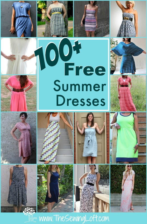 60 Easy Summer Dresses Round Up The Sewing Loft Gorgeous Easy Dress Sewing Patterns