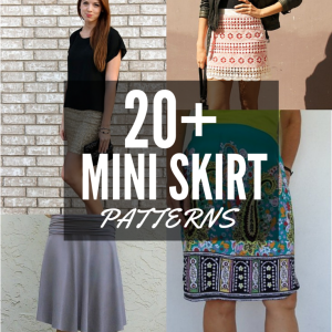 20+ Free Mini Skirt Patterns