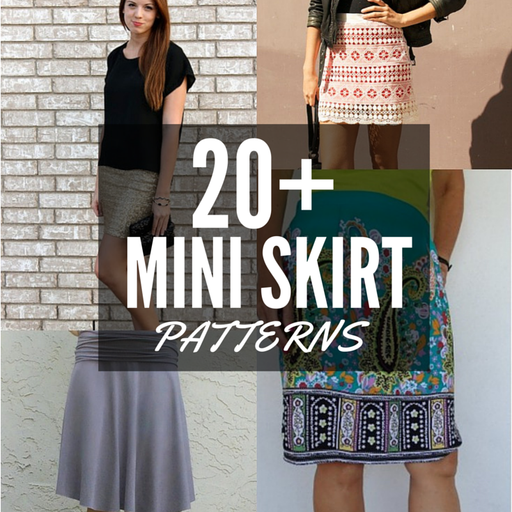 20 Free Mini Skirt Patterns The Sewing Loft