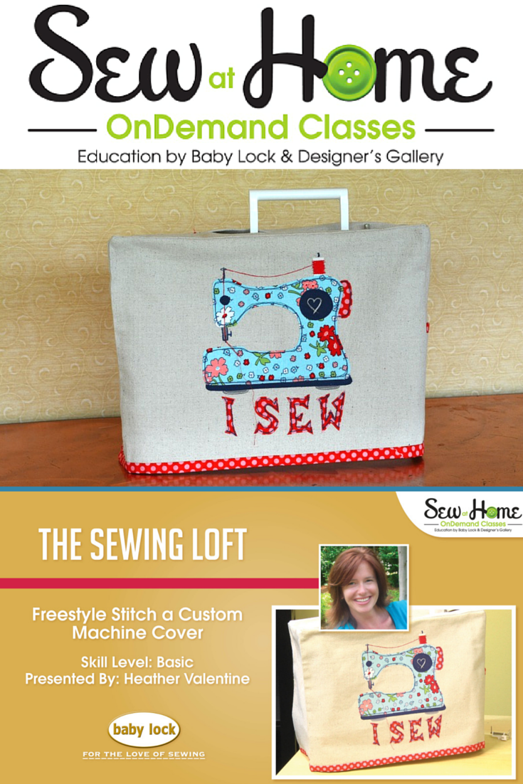 Sewing Machine Cover Video Class - The Sewing Loft