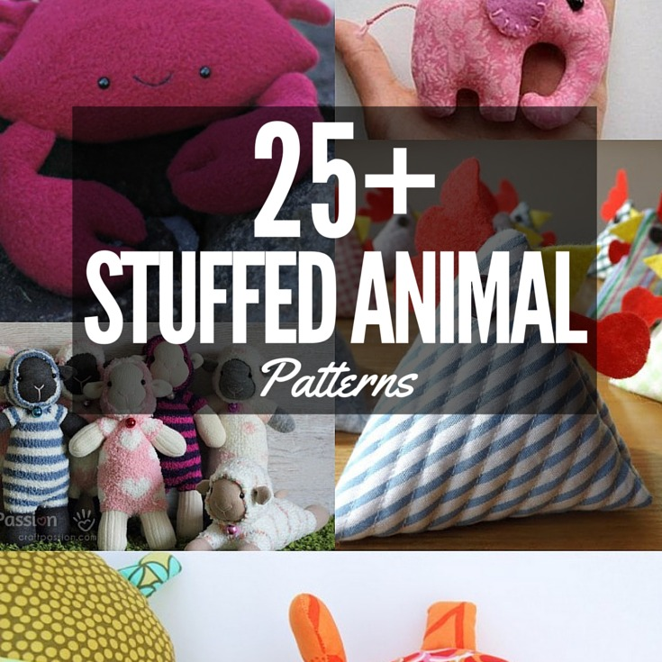 Stuffed Animal Patterns The Sewing Loft
