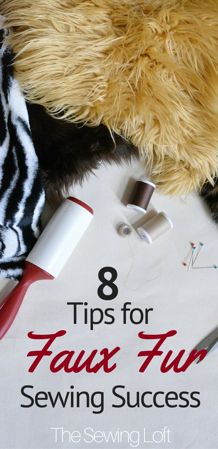 Working with faux fur can be tricky but set yourself up for sewing success with these easy tips. The Sewing Loft