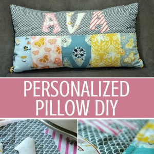 Personalized Pillows DIY