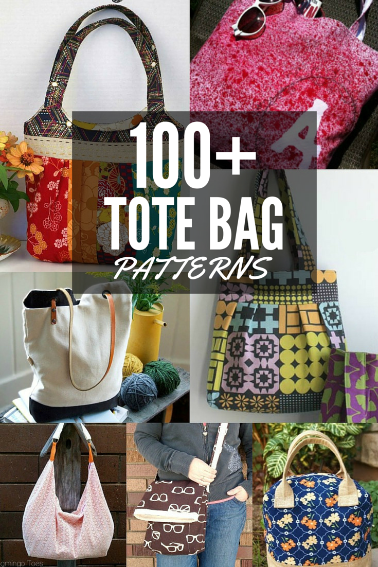 635857c0a78 100+ Free Tote Bag Patterns All patterns are free with step by step  instructions.