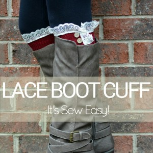 Lace Boot Cuffs DIY Video