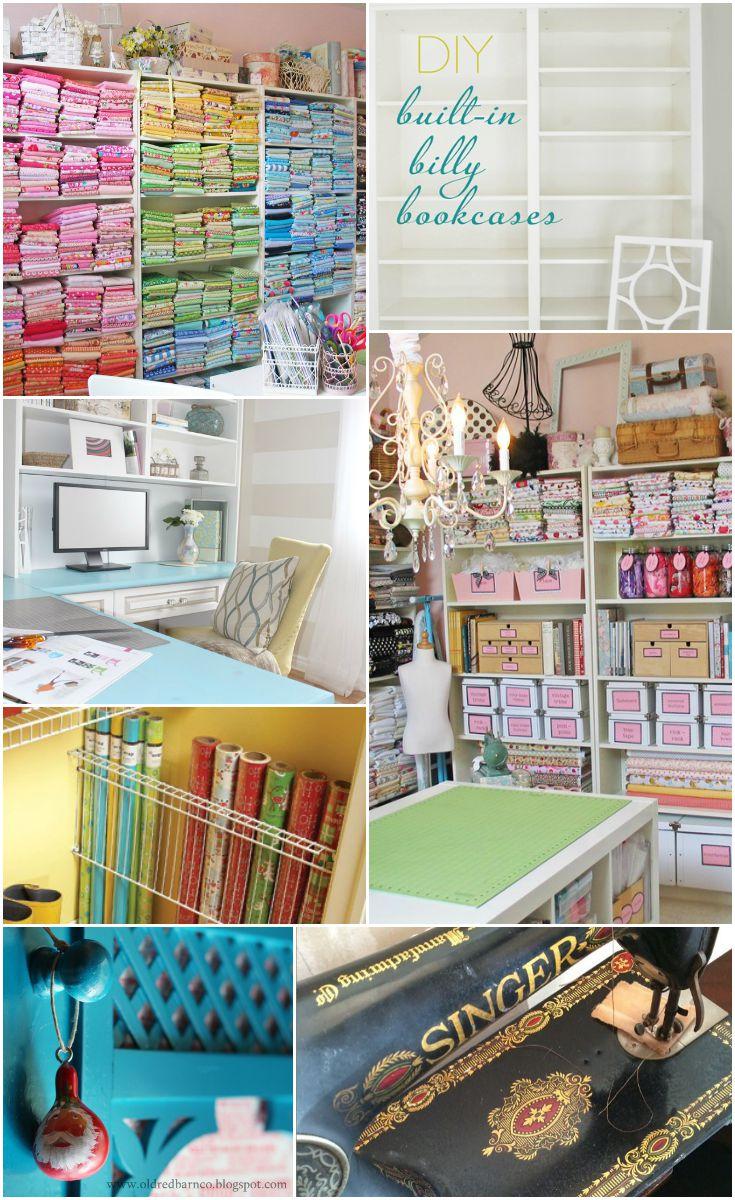 Sewing Studio Storage Ideas