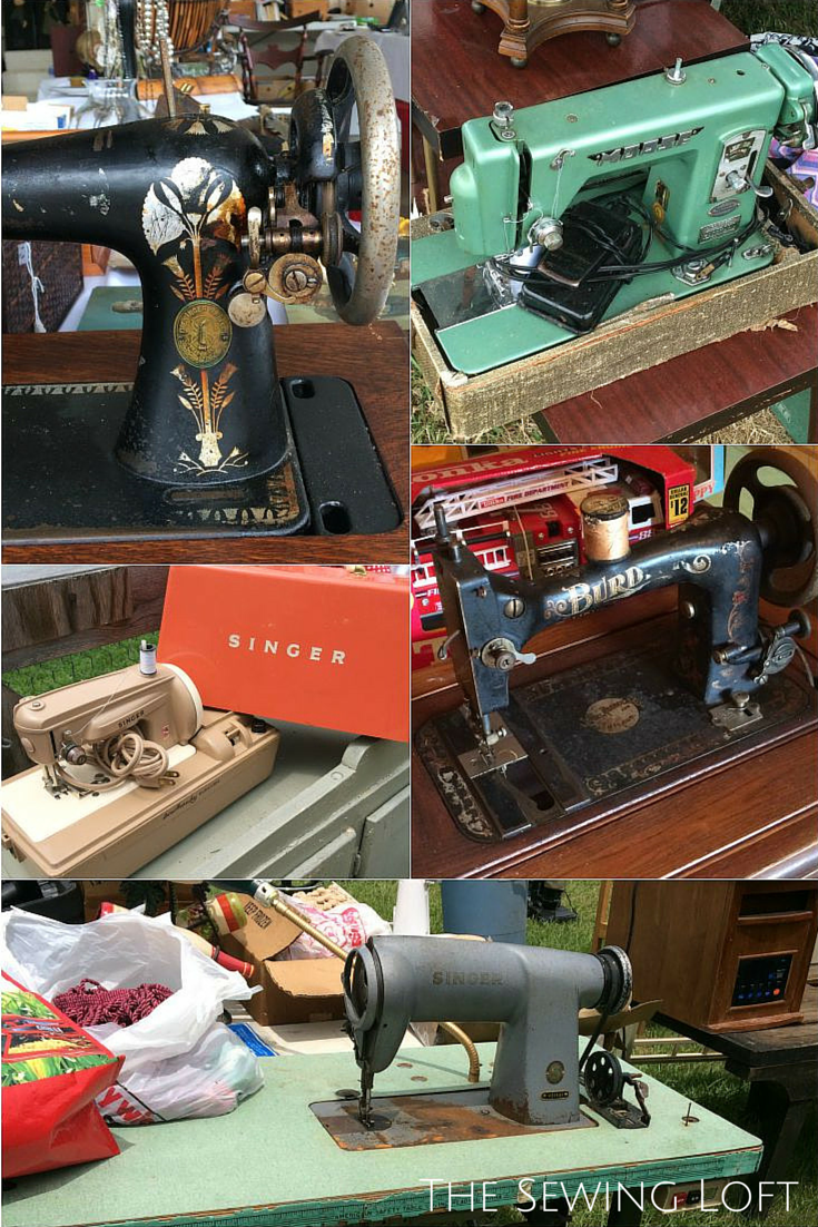 Vintage sewing machines found during our 127 sale adventures. Learn more about our fab finds. The Sewing Loft