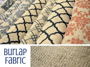 Burlap Fabric – Sewing Term