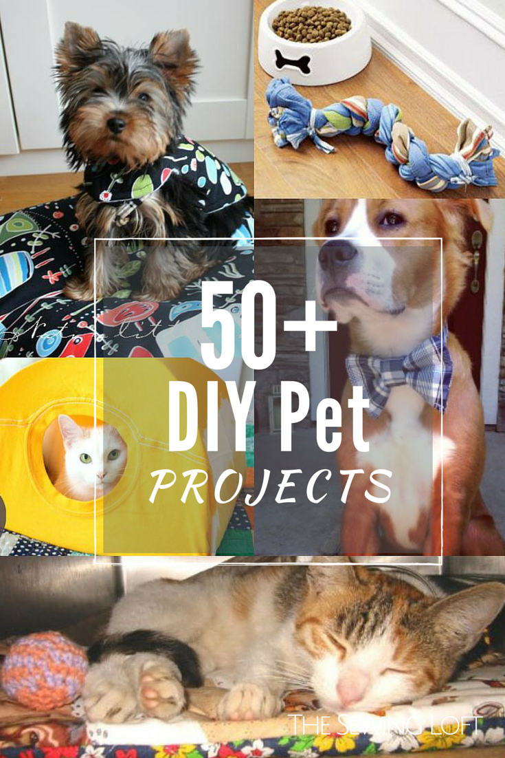 50+ DIY Pet Projects - The Sewing Loft