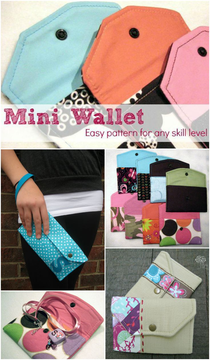 Learn how to transform the basic mini wallet into a bunch of easy to make bags. The Sewing Loft