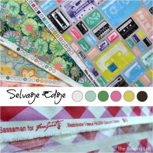 Fabric Selvage – Sewing Term