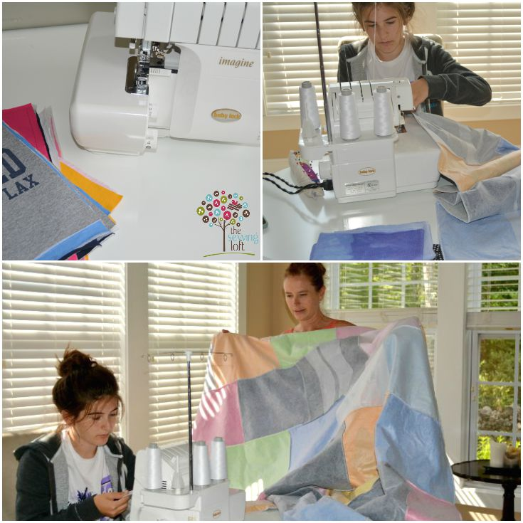 how to make a tshirt quilt without sewing