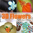 3D Flowers with Sue O'Very