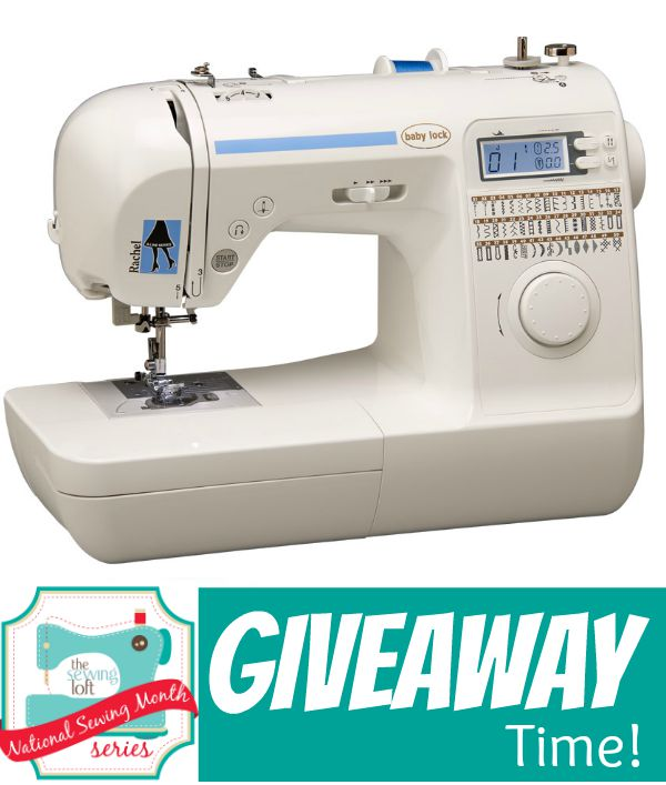 National Sewing Month 40 Giveaway The Sewing Loft Impressive Sewing Machine Giveaway 2015