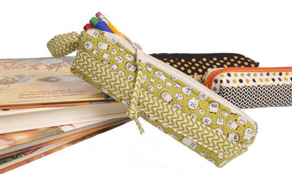 Scrappy Pencil Case Pattern - The Sewing Loft