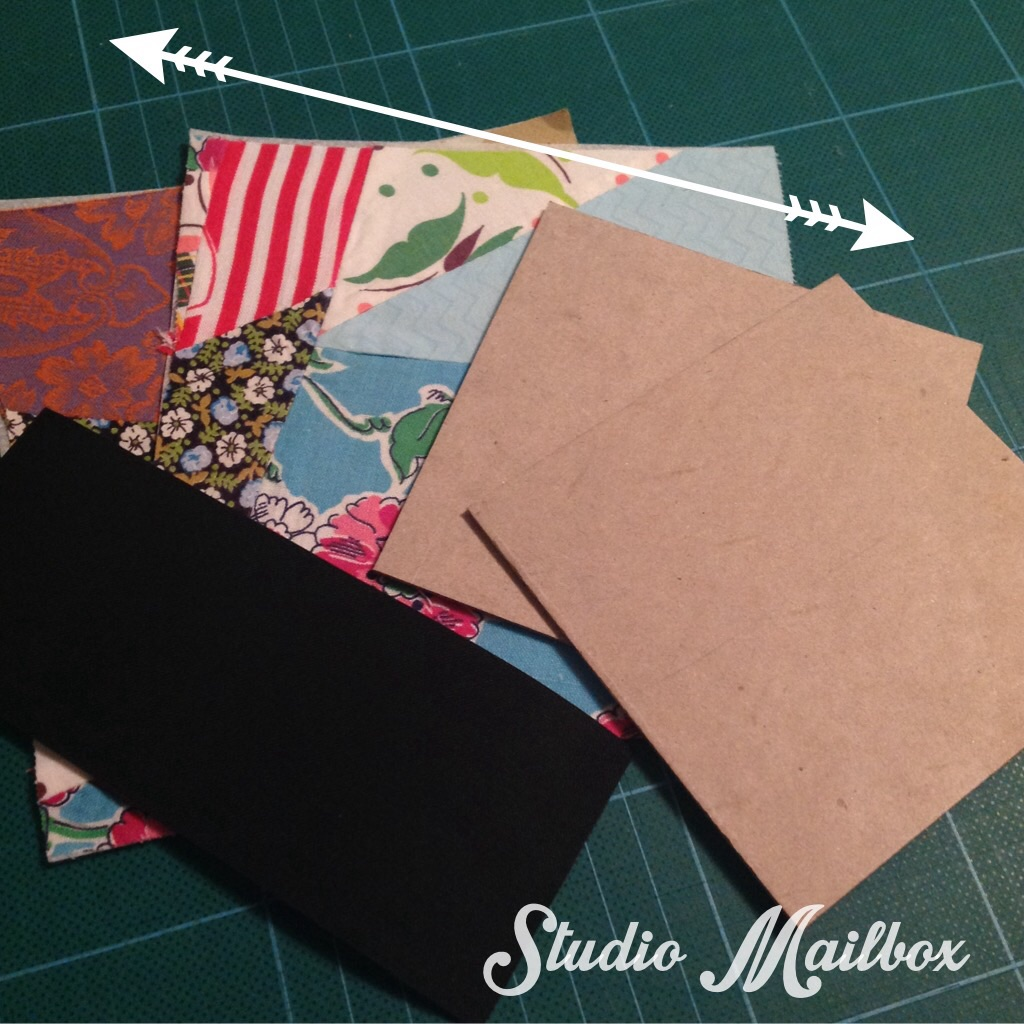 How To Make A Book Cover Cloth ~ Scrappy journal book covers the sewing loft