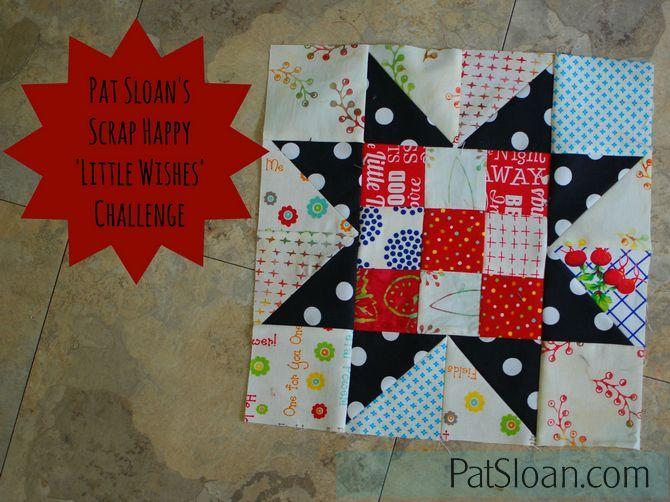 Pat Sloan Scrap Happy Little Wishes challenge button