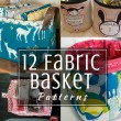 Fabric Basket Patterns