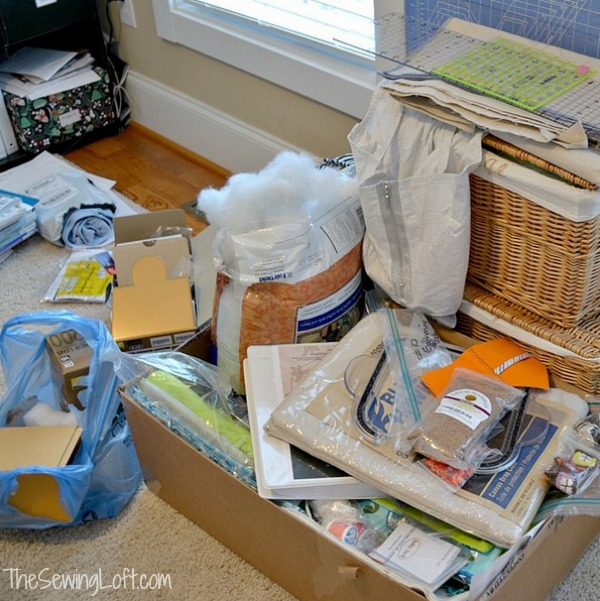 Floor space is top of my list for Sewing Studio Must Haves. Check out what other key things every sewing studio should have. The Sewing Loft
