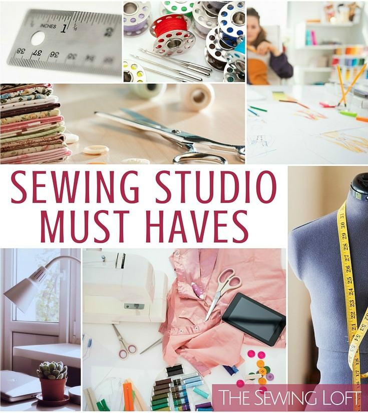 There are a few key things that every sewing studio should have and when asked, you answered! The list & reasons are pretty impressive. The Sewing Loft