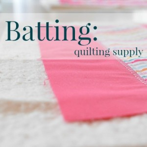 Batting | Sewing Term