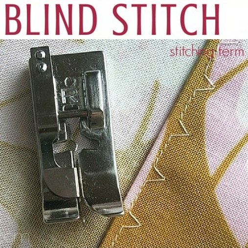 Blind Stitch Sewing Term The Sewing Loft