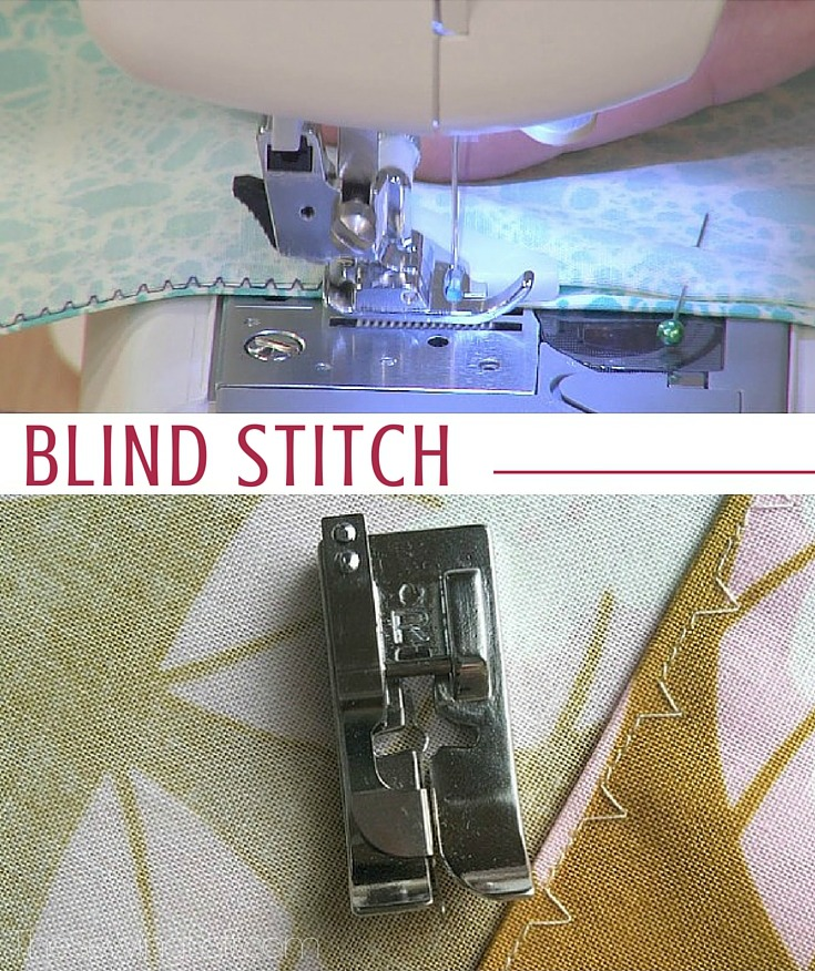 Blind Stitch | Sewing Term - The Sewing Loft