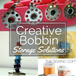 Creative Bobbin Storage Solutions