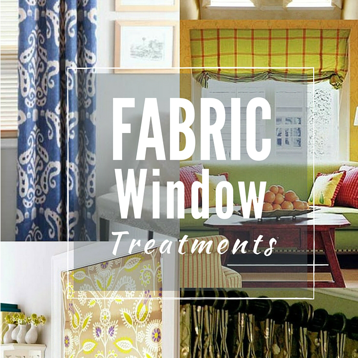 fabric window treatments - the sewing loft