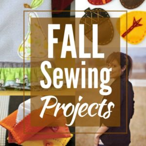 16 Fall DIY Sewing Projects