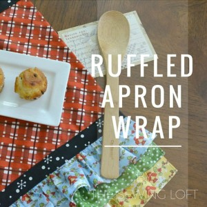Ruffled Apron Wrap