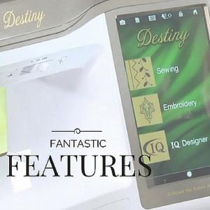 BabyLock Destiny- 5 Favorite Features