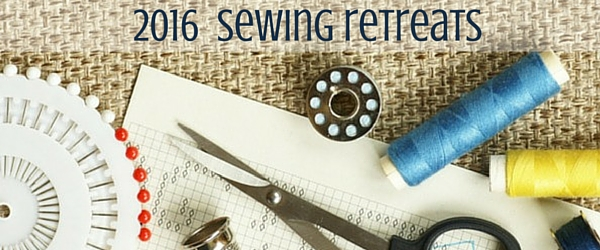 Sewing retreats are a fun way to meet new friends who are passionate about sewing. Check out this great list for 2016 retreats. The Sewing Loft