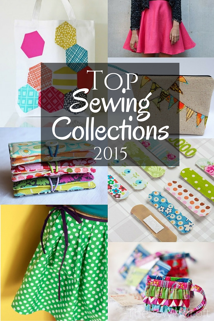 Talk about inspiration! There are over 500 free patterns in this mega sewing collection. Thanks to The Sewing Loft, I'll be stitching all year long.
