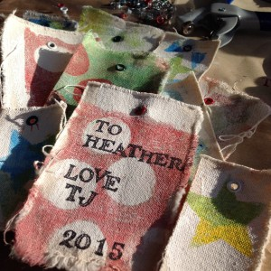 Scrap Canvas Gift Tags
