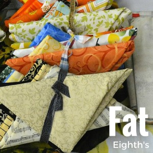 Fat Eighth Unit of Measured Fabric