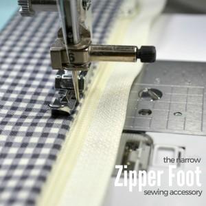 Narrow Zipper Foot – a MUST have!