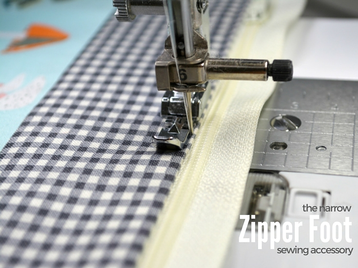 Narrow Zipper Foot A MUST Have The Sewing Loft Simple Zipper Foot For Sewing Machine