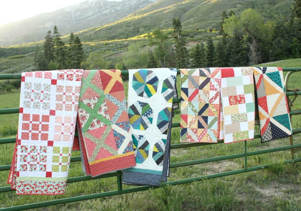 Slice through your pre cut fabrics and jelly rolls with these 7 new quilt patterns.