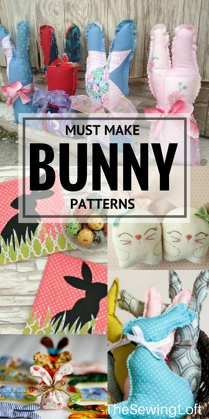 Oh my goodness... these bunny patterns are so cute! I need to stitch up a few for Easter.
