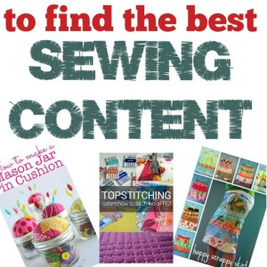 Using Pinterest for your sewing addiction