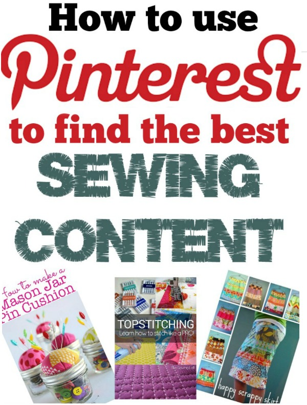 Looking for the best sewing content on Pinterest? Come follow me and let's pin together.