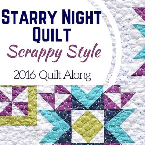 Scrappy Starry Night Quilt Along