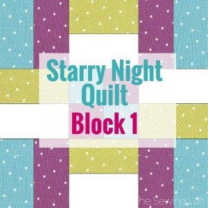 Block 1 Starry Night Quilt