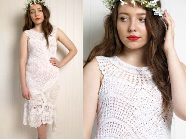 Stunning vintage doily DIY ideas! The range from clothing to home decor.