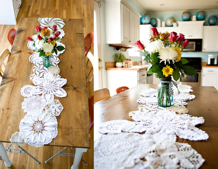 Create stunning home decor and one of a kind garments with these vintage doily DIY ideas! The Sewing Loft