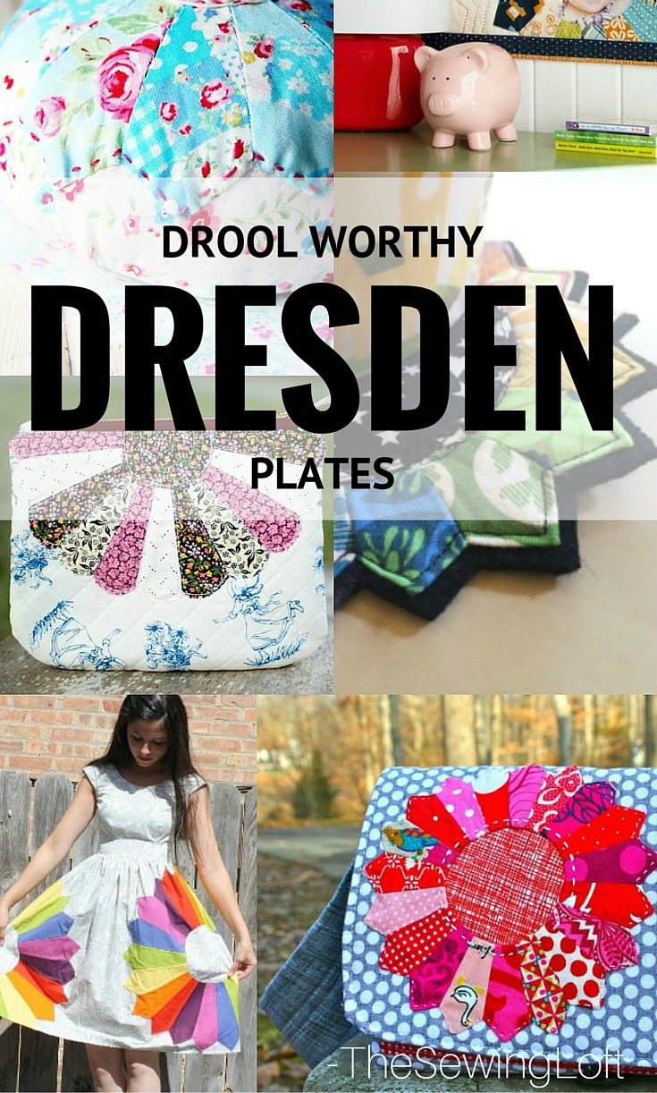 Dresden Plates are perfect for scraps and so easy to make. Check out these drool worthy dresden projects.
