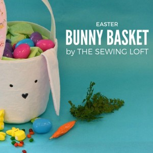 Easter Bunny Basket DIY