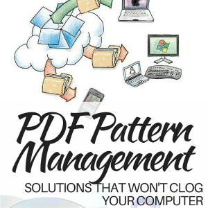 PDF Storage Solution Ideas For Patterns